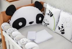 Kit Berço Panda Baby Magia 10 Peças