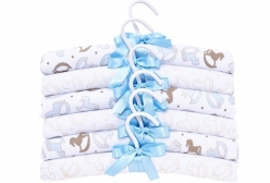 Kit Cabide Infantil Cavalinho Baby Blue Hug Baby