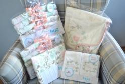 Kit Enxoval de Bebê Passarinho Sara Hug Baby 16 peças