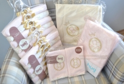 Kit Enxoval de Bebê Ursinha Rosa Garden Hug Baby