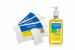 Kit Granado Bebê Sabonete Liquido e Lenços Umedecidos