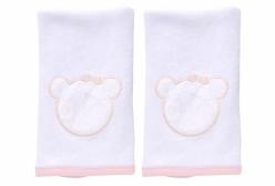 Kit Pano de Boca em Esponja Carinhoso Rosa Hug Baby