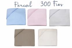 Lençol para Mini Cama e Montessoriano 300 Fios 3 peças (5 Cores) - Marfim