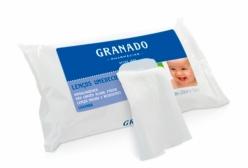Lenços Umedecidos Lavanda Granado Bebê 50 Unidades