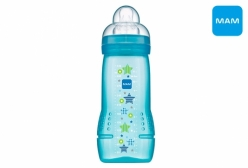 Mamadeira MAM Baby Fashion Bottle 4+ Meses Azul 330ml