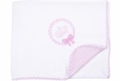 Manta para Bebê em Soft Pequena Princesa Hug Baby