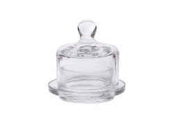 Manteigueira em Vidro Pequena
