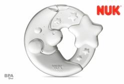 Mordedor para Bebê NUK Moon Star - Branco