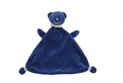 Naninha para Bebê Cheirinho Urso Marinho 1 Peça - Azul Marinho