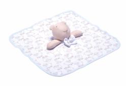Naninha para Bebê Ovelhinha Algodão Doce Azul Hug Baby
