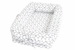 Ninho para Bebê Geometric Preto e Branco