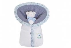 Porta Bebê Bordado Holiday Bordado - Branco
