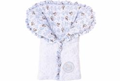 Porta Bebê Cavalinho de Balanço Baby Blue Hug Baby
