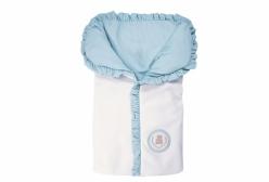 Porta Bebê Little Bear Azul Hug Baby