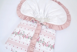 Porta Bebê Petit Rosé Floral