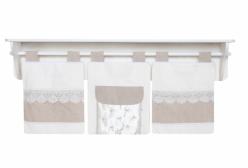 Porta Fraldas Imperial Marfim 03 Peças