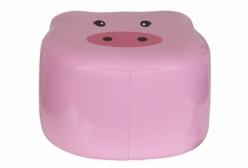 Puff Infantil Almofadado Pig Porquinha