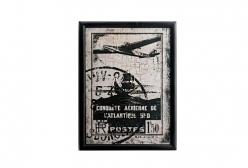 Quadro Avião Vintage III - MDF