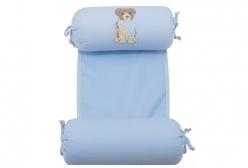 Rolinho Segura Bebê Blue Dog Coquelicot - Azul