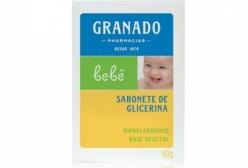 Sabonete de Glicerina Tradicional Granado Bebê 90g