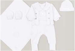 Saída Maternidade Theodore Branco 5 Peças