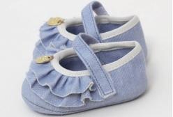 Sapatilha para Bebê Jeans Hug