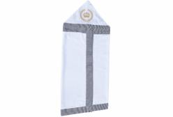 Toalha Banho Revestida em Fralda Majestade Marinho
