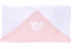 Toalha de Banho Carinhoso Rosa Hug Baby