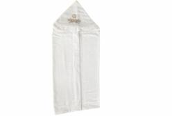 Toalha de Banho para Bebê Imperial Marfim