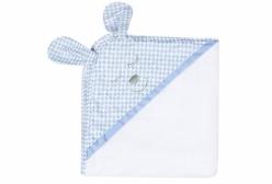Toalha de Banho para Bebê Luigi Azul