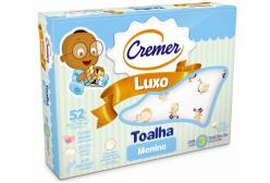 Toalha Fralda Cremer Luxo para Menino c/ 03 peças