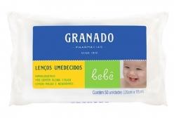 Lenços Umedecidos Granado Bebê C/ 50 Unidades
